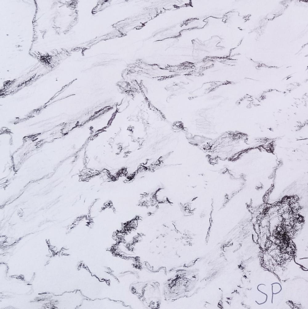 massive rock texture detail