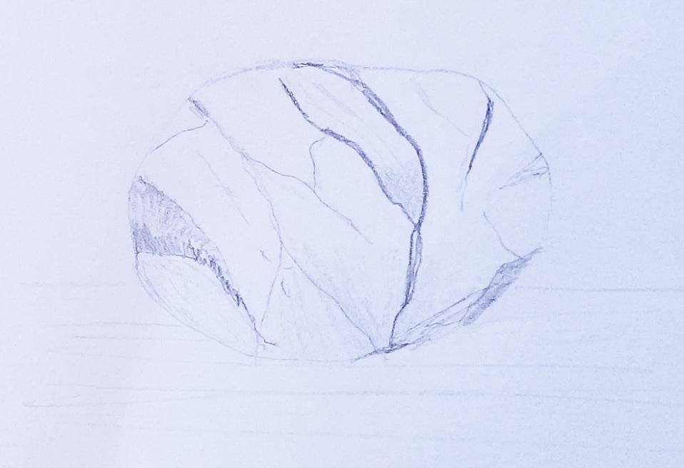 rock drawing 6