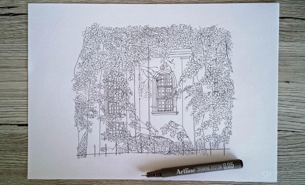 Evangelical augsburg church fine line drawing.jpg