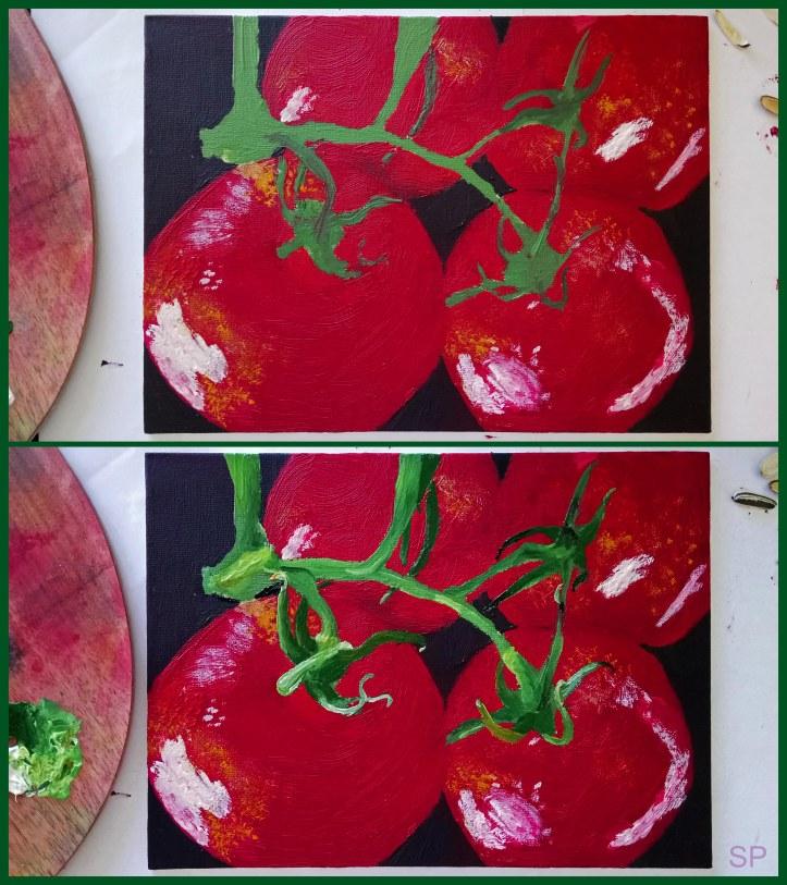 Fragrant tomatoes oil painting steps 3.jpg