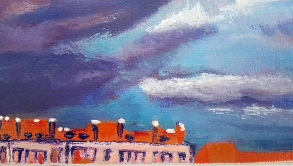 pretending like storm oil painting detail 1