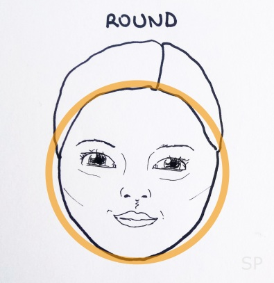 3 round face shape
