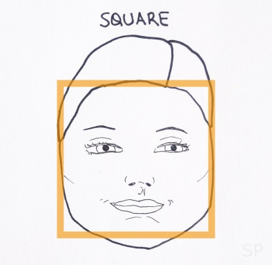 4 square face shape