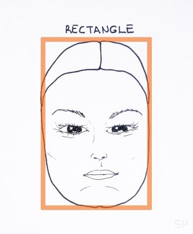 8 rectangle face shape