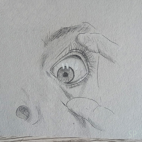 eye drawing 1