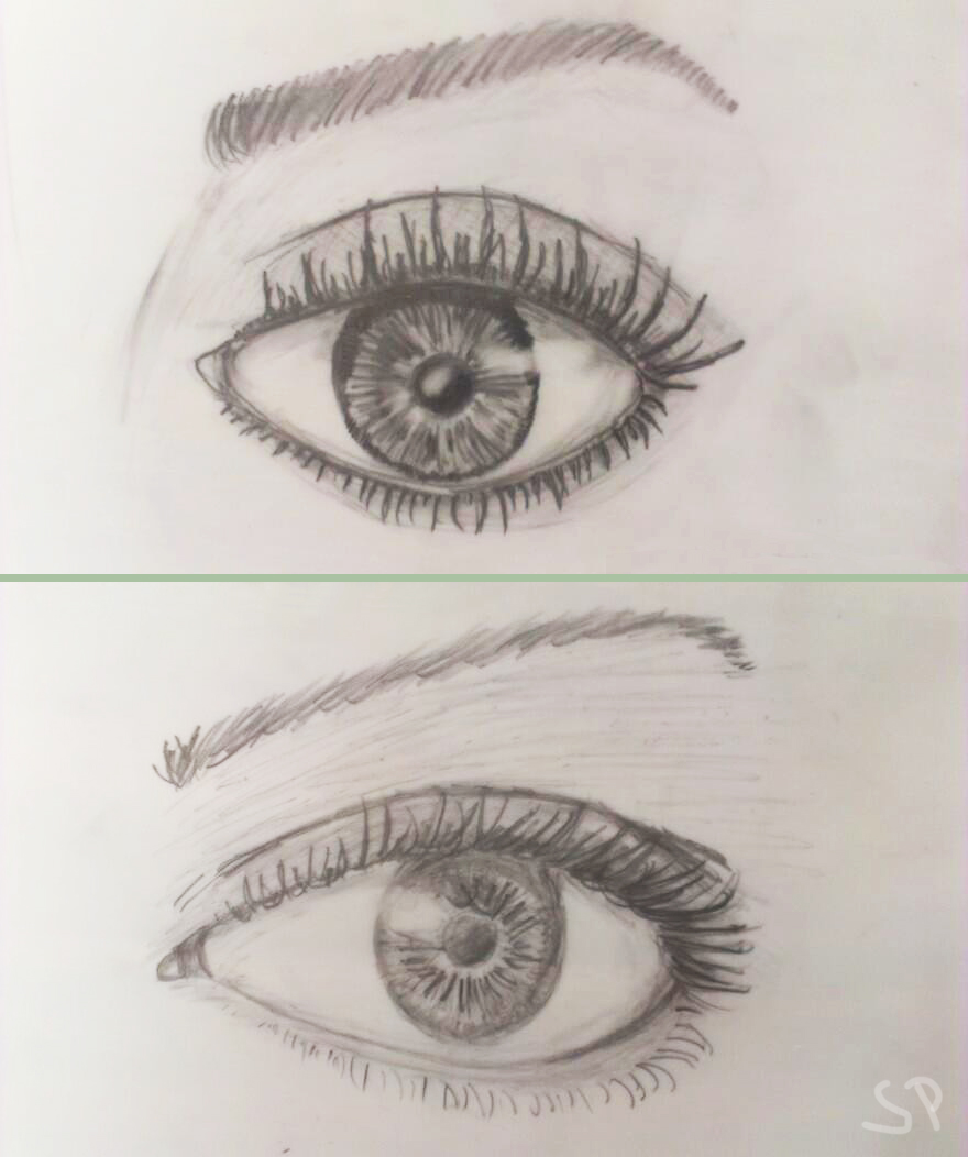eye drawings 2015 feb