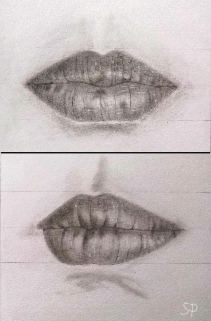 lip drrawings 2