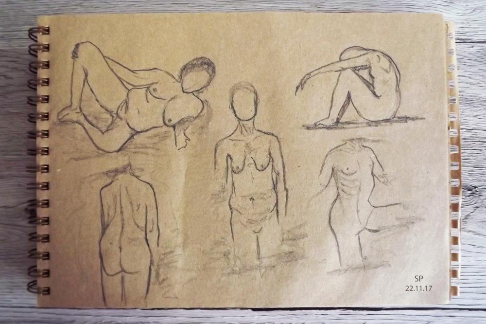 torso sketches