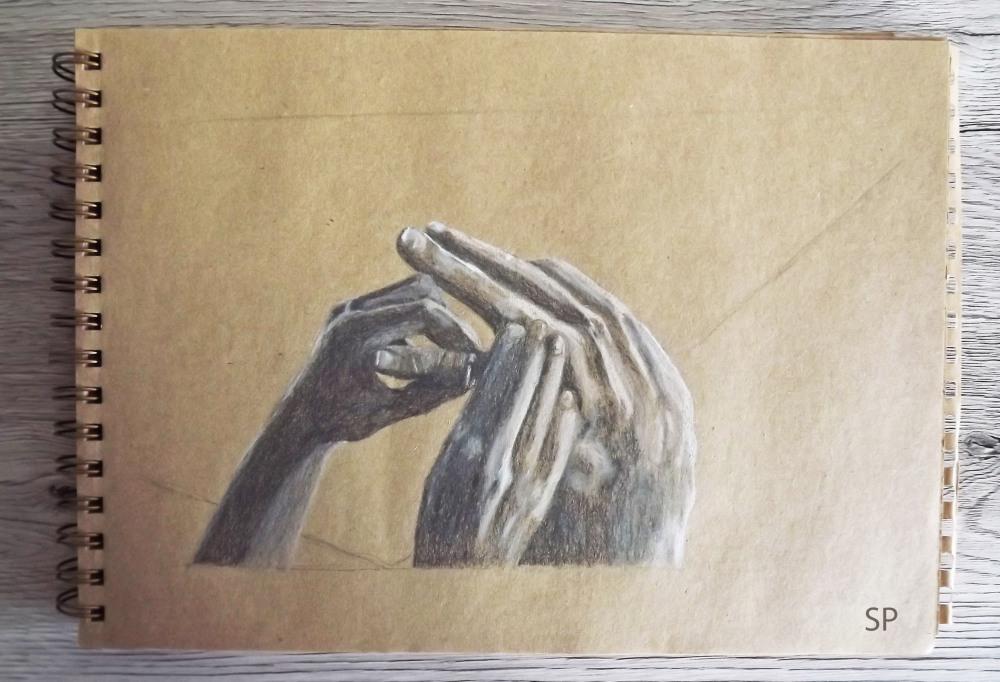 Biutiful hands drawing 1