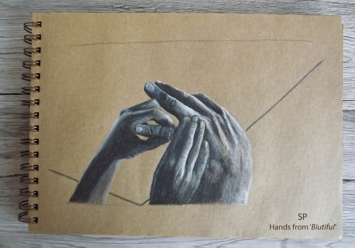 Biutiful hands drawing 2