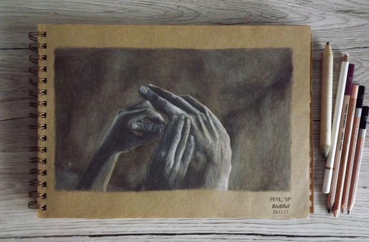 biutiful movie hand drawing