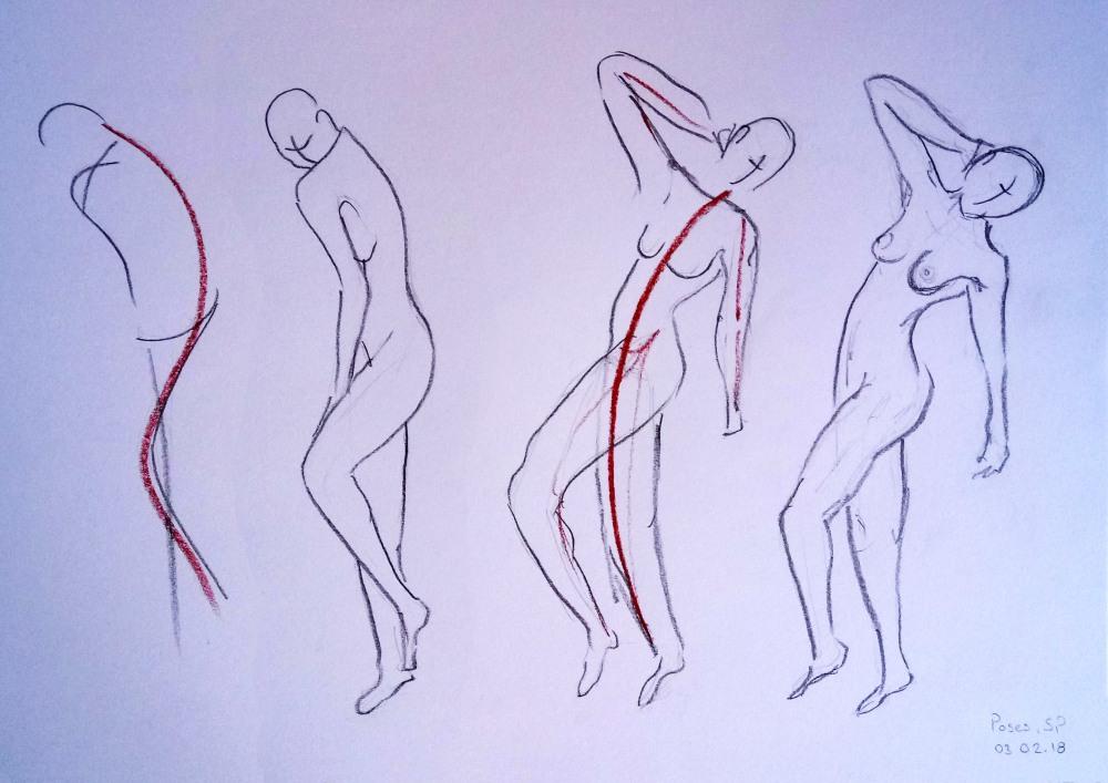 human poses 1