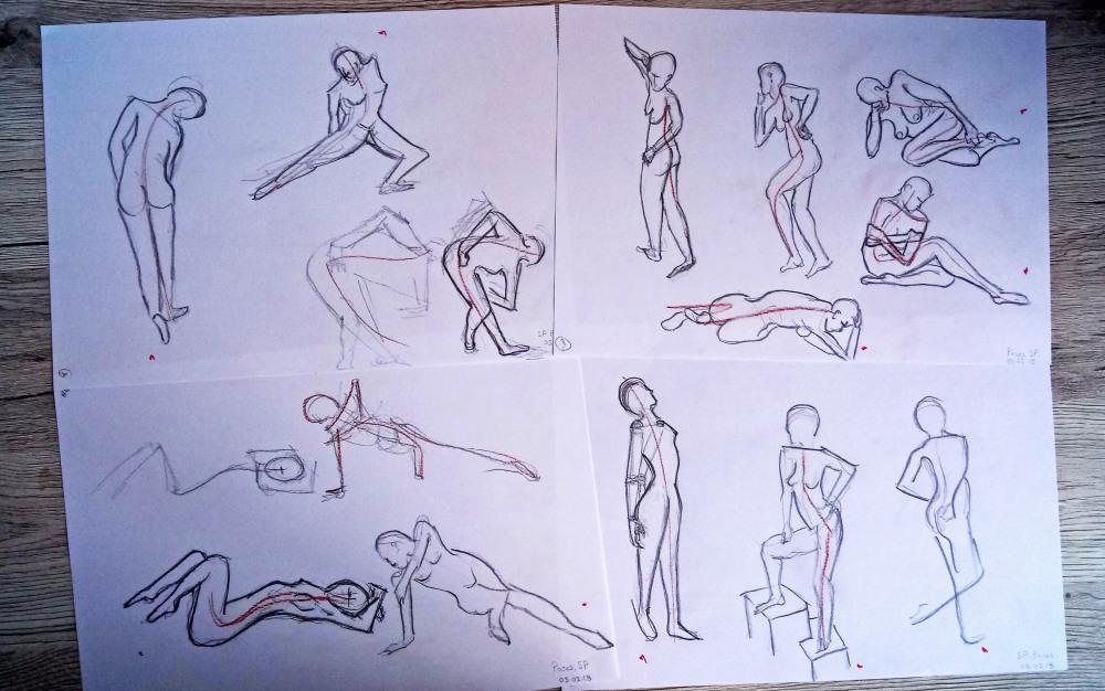 human poses 4
