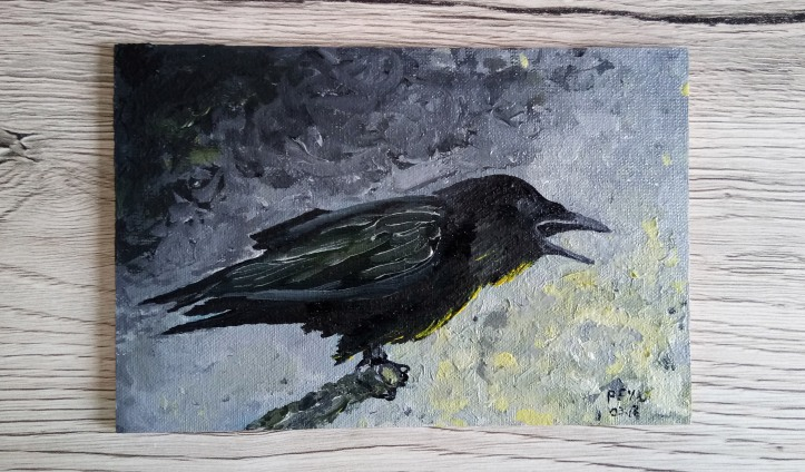 5 am yellow raven oil painting 2.jpg