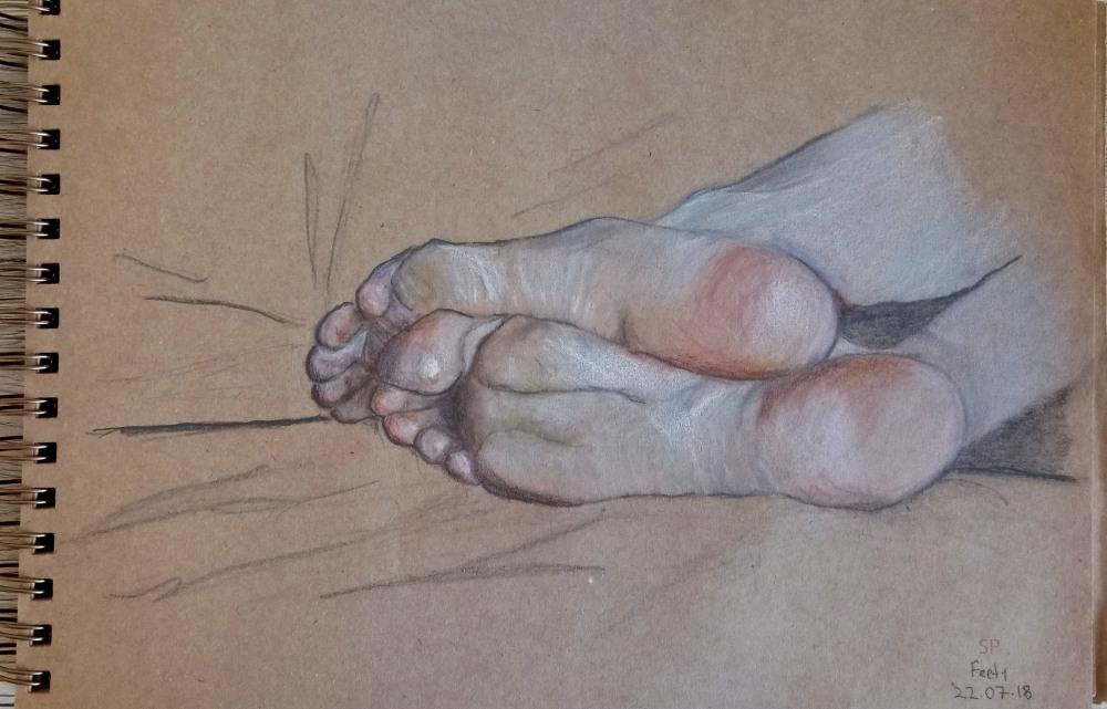 feety drawing 2