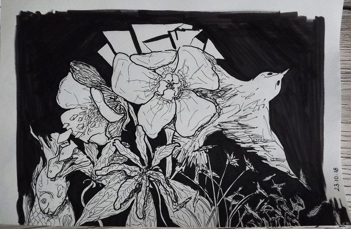 wildflowers ink