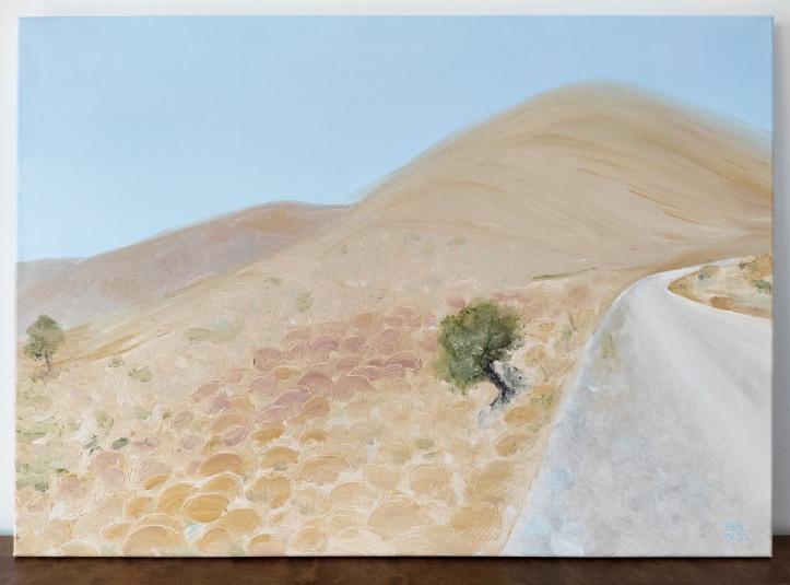 Dryland oil painting